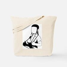 Proud Skinhead Girl Tote Bag