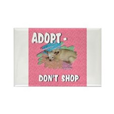 Cute Mixed animals Rectangle Magnet
