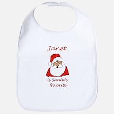 Janet Christmas Bib