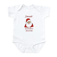 Janet Christmas Infant Bodysuit