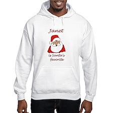 Janet Christmas Jumper Hoody