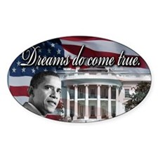President Barack Obama Oval Decal
