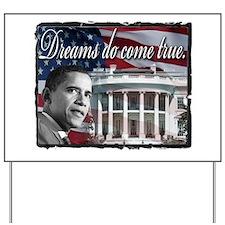 President Barack Obama Yard Sign