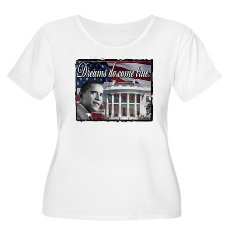 President Barack Obama Women's Plus Size Scoop Nec