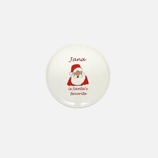 Jana Christmas Mini Button