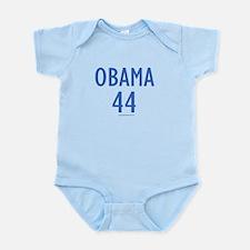 OBAMA 44 (Blue) - Infant Bodysuit