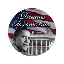 "President Barack Obama 3.5"" Button (100 pack)"