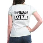 War On Poverty Jr. Ringer T-Shirt