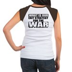 War On Poverty Women's Cap Sleeve T-Shirt