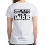 War On Poverty Women's T-Shirt