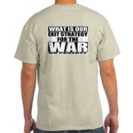War On Poverty Ash Grey T-Shirt