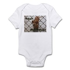 Cute Dachshund shopping Infant Bodysuit