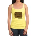 Will Work For Tossed Salad Jr. Spaghetti Tank
