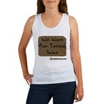 Will Work For Tossed Salad Women's Tank Top