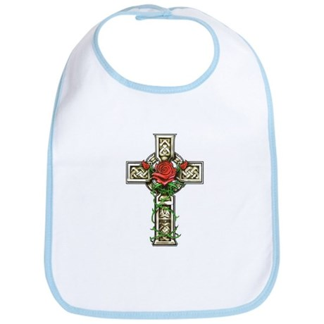 Celtic Rose Cross Bib