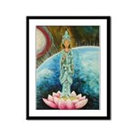 Quan Yin Framed Panel Print