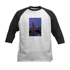 Chicago Nighttime Skyline Tee
