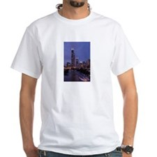 Chicago Nighttime Skyline Shirt