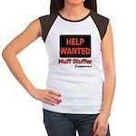 Help Wanted: Muff Stuffer Women's Cap Sleeve T-Shi