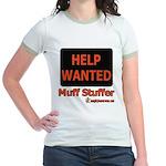 Help Wanted: Muff Stuffer Jr. Ringer T-Shirt