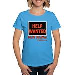 Help Wanted: Muff Stuffer Women's Dark T-Shirt