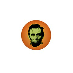 Abe Lincoln Stein Mini Button