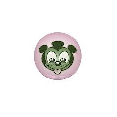 Snacky Pup Mini Button