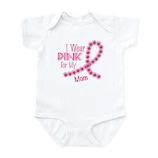 I Wear Pink For My Mom 26 Infant Bodysuit