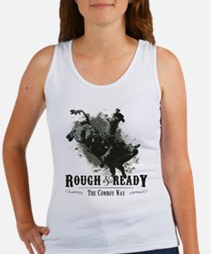 Rough and Ready Bull Riding Women's Tank Top