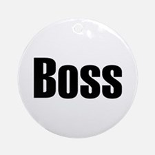 Boss Ornament (Round)