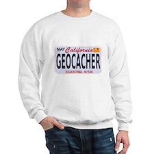 Geocacher California Sweatshirt