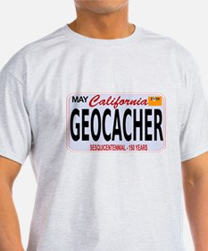 Geocacher California T-Shirt
