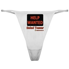Wanted: Salad Tosser Classic Thong