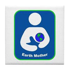 IBFS Earth Mother #1 Tile Coaster