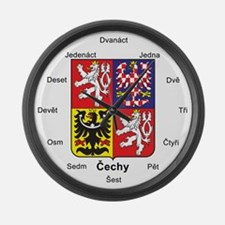 Czech Republic Large Wall Clock