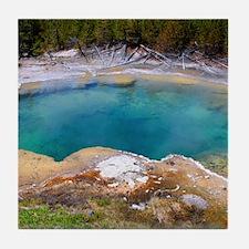 Emerdald Hot Springs Tile Coaster