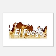 El Fuego Postcards (Package of 8)
