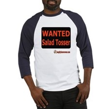 Wanted Salad Tosser Baseball Jersey