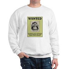Columbus Wanted Poster Sweatshirt