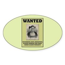Columbus Wanted Poster Decal
