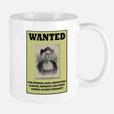 Columbus Wanted Poster Mug