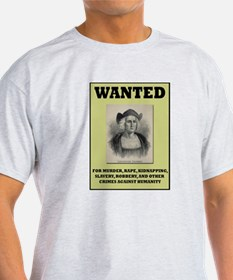 Columbus Wanted Poster T-Shirt