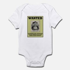 Columbus Wanted Poster Infant Bodysuit