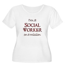 Social Worker on a Mission T-Shirt