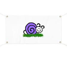 Sam the Snail Banner