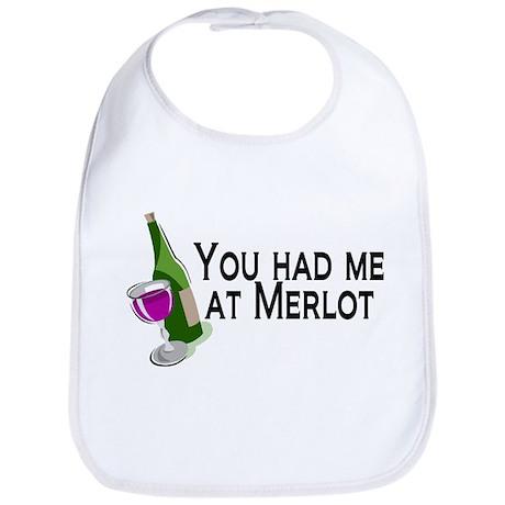 You Had Me At Merlot Bib