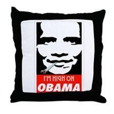 Unique Obama campaign Throw Pillow