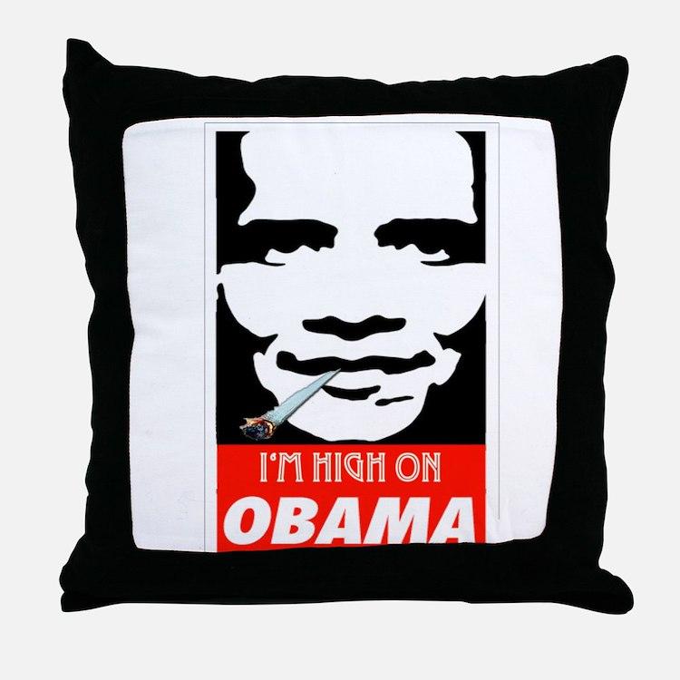 Cute 2012meterantiobama Throw Pillow