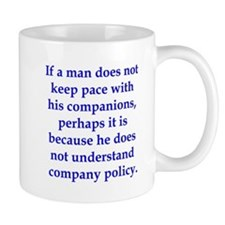 If Thoreau worked in manageme Mug