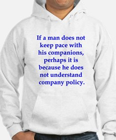If Thoreau worked in manageme Hoodie